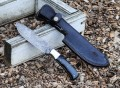 Damascus Hunter Knife by BucknBear