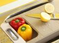 Retractable Chopping Board & Colander