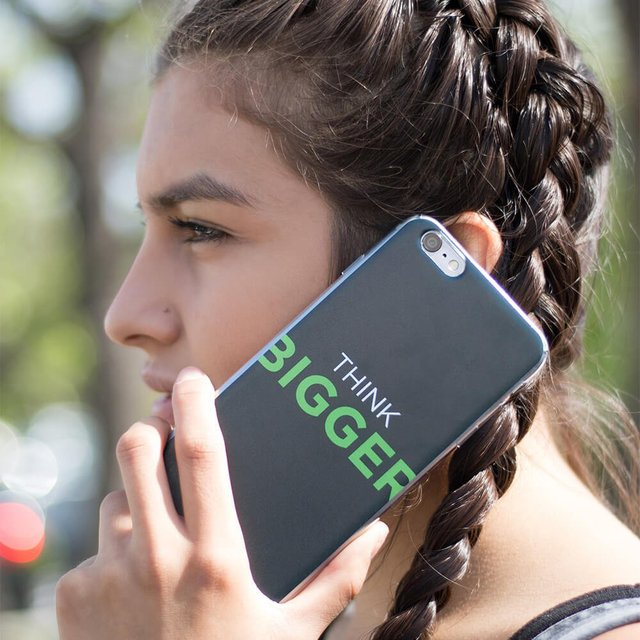 Think Bigger iPhone 6+ Case