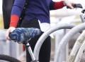 Seaglass Print Bike Seat Cover