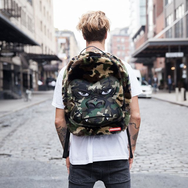 Camo Gorilla Backpack
