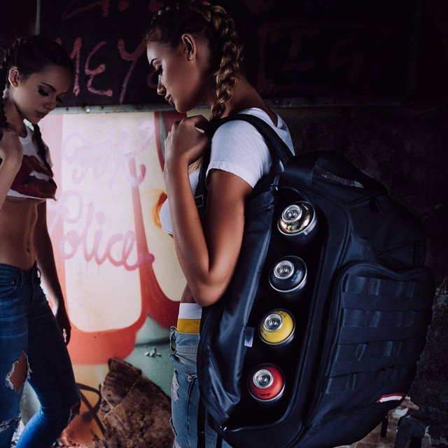 Graffiti Utility Backpack by Sprayground