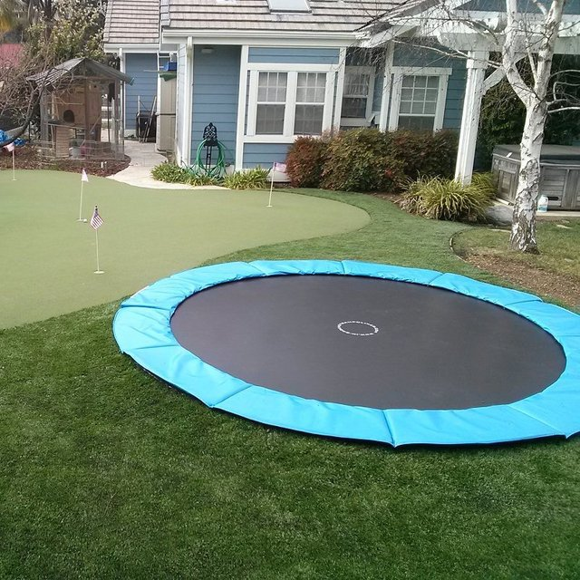 In Ground Trampoline Kit
