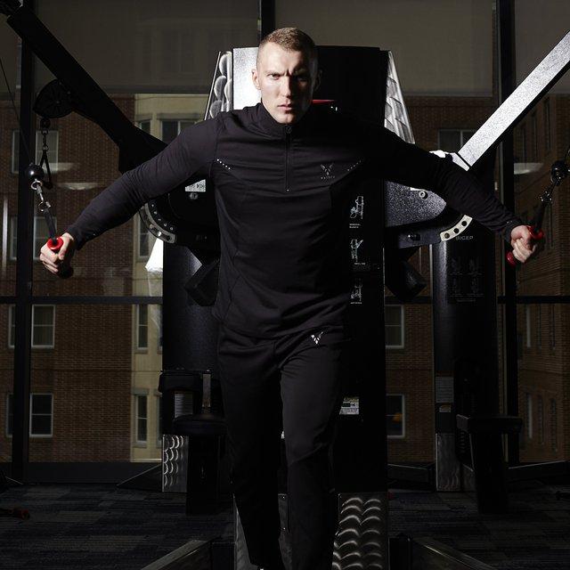 Vaiden Argus Lightweight Four Way Stretch Athletic Pullover