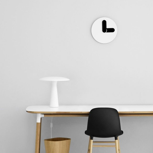 Bold Wall Clock by Normann Copenhagen