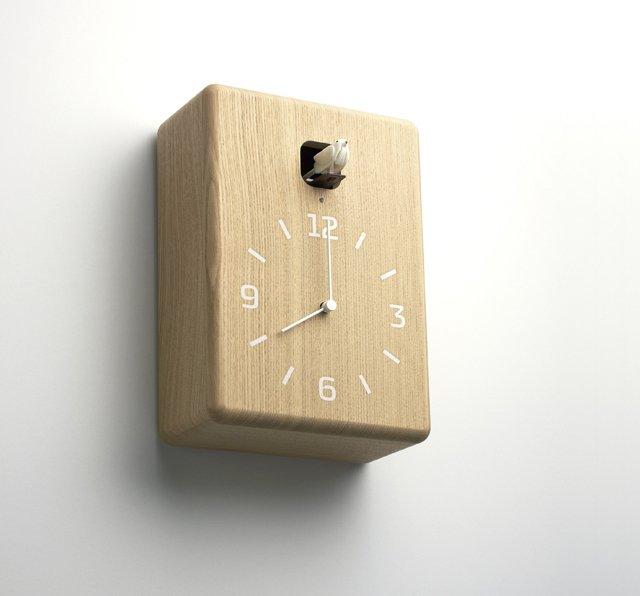 Lemnos CuCu Clock by Yuichi Nara