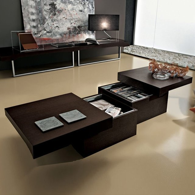 Asia Sliding Top Coffee Table