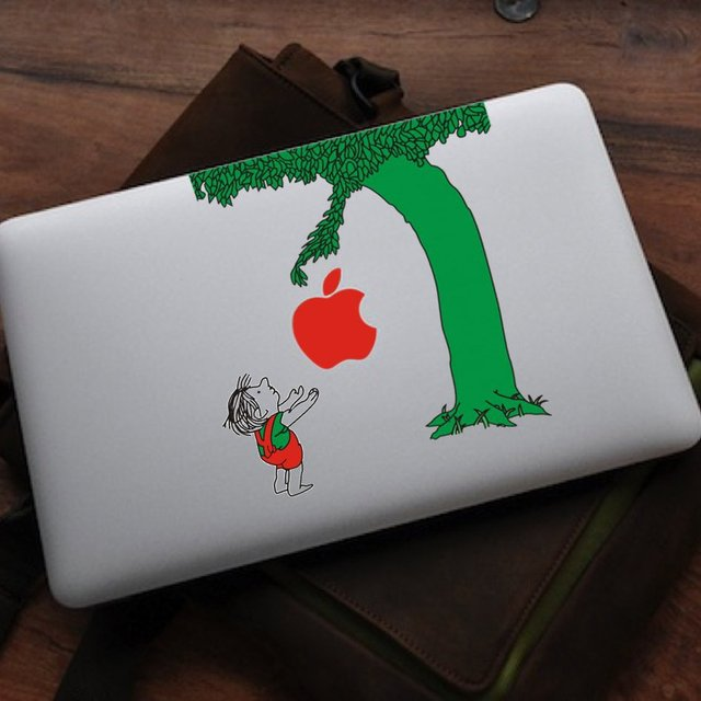 Giving Tree MacBook Decal