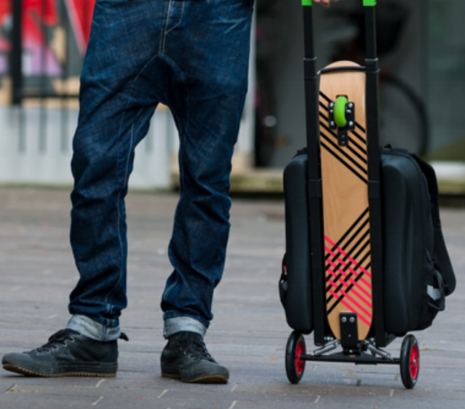 Urban Kick Luggage Scooter by OLAF
