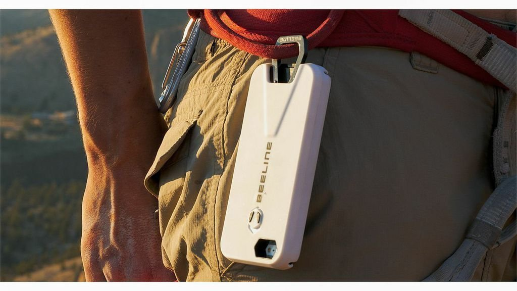 Beeline Retractable Carabiner iPhone Case