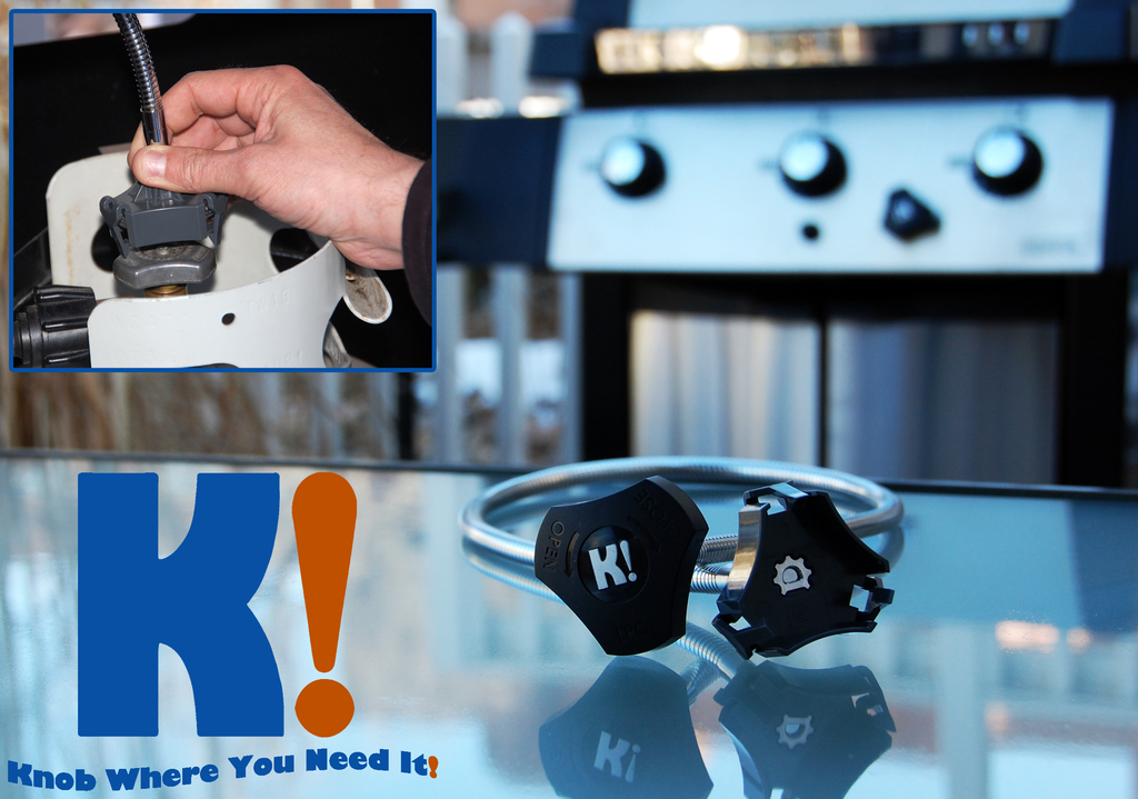 Knob Where You Need It! – An Evolution in Propane Grilling