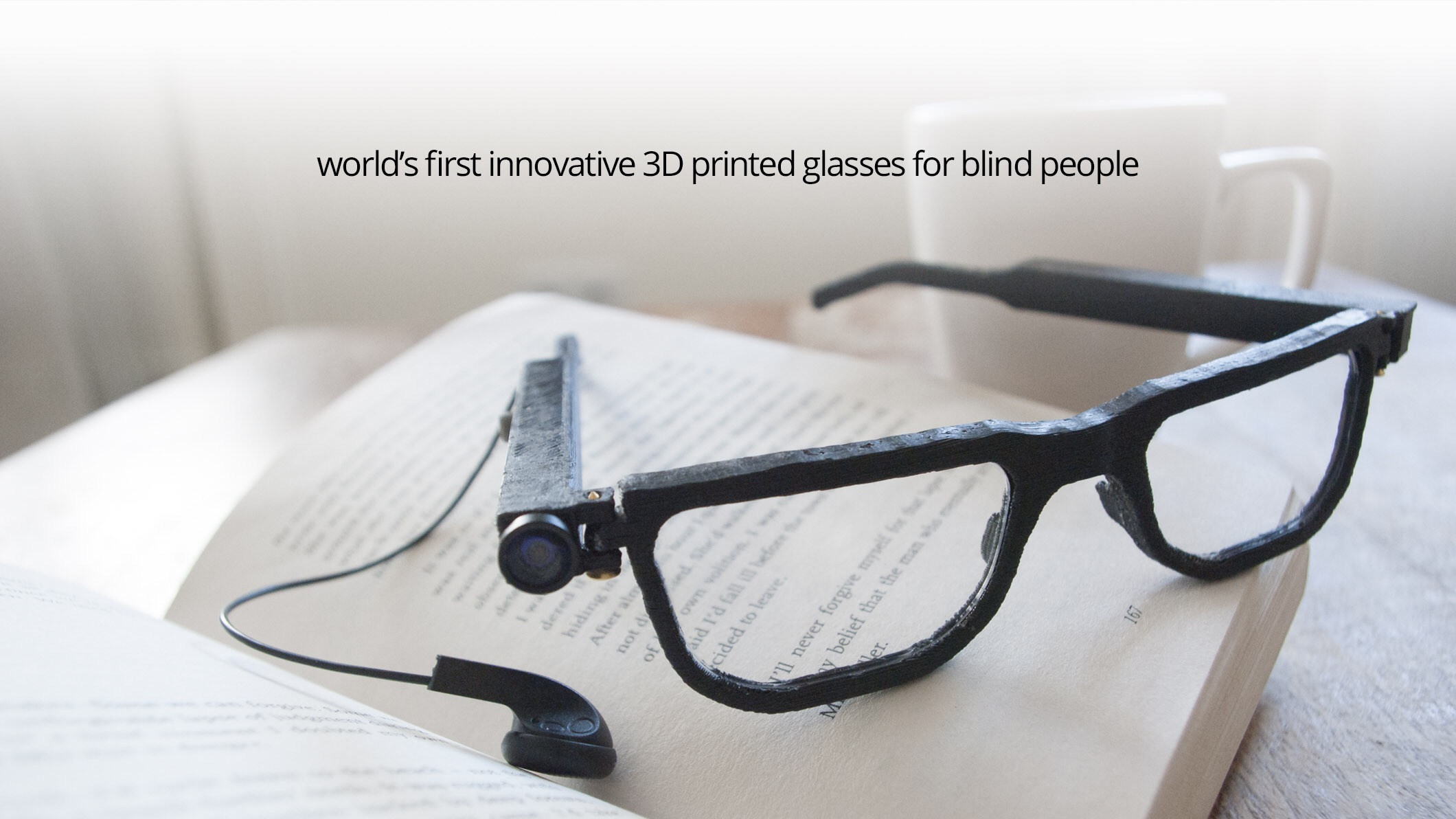 PARSEE: World's First FREE Glasses for Blind People