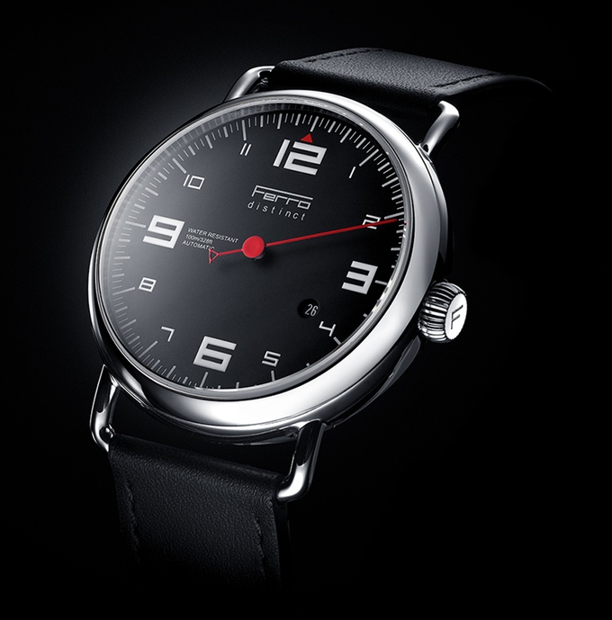 Ferro Distinct 2 -A Watch inspired by Sports Car Tachometers