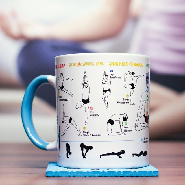 How to Yoga Mug and Yoga Mat Coaster