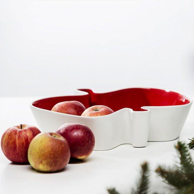 Apple Serving Bowl by Sagaform