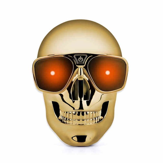 Mini Skull Shape Power Bank