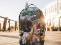 Jeremy Hill Tiger Mob Backpack by Sprayground