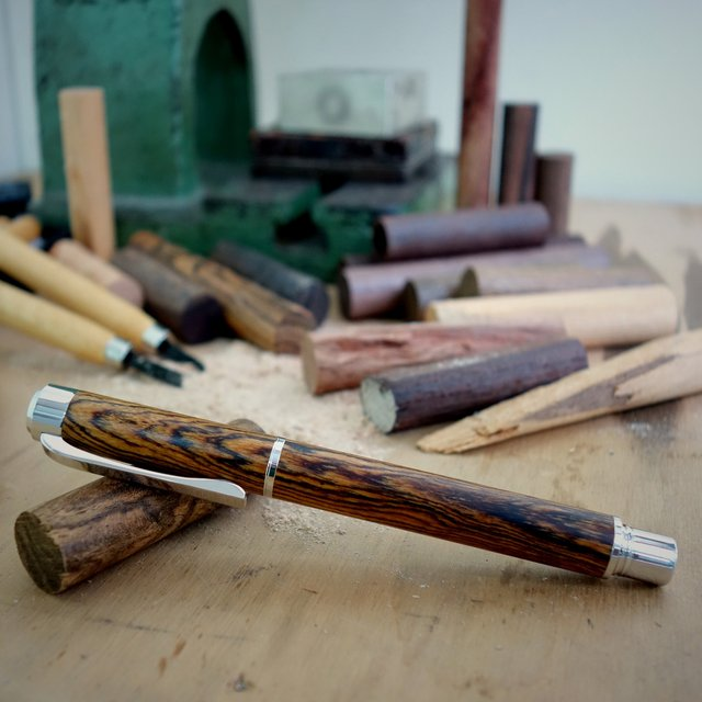 Bucote Wood Fountain Pen