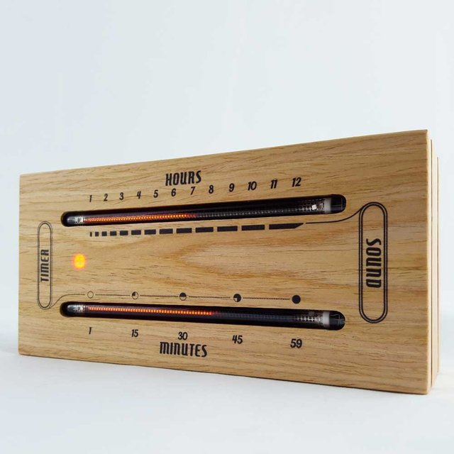 The Luminous Electronic Bargraph Clock