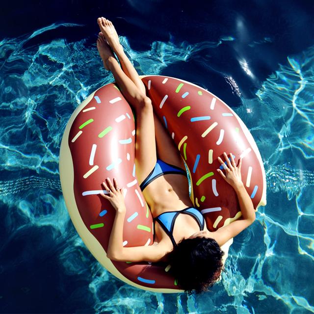 Chocolate Donut Float