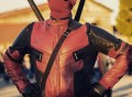 Deadpool Motorcycle Suit