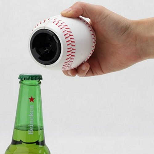 The Baseball Bottle Opener