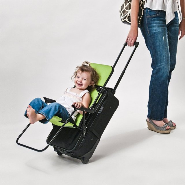Ride-On Carry-On Luggage Chair