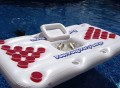 Party Barge Pool Beer Pong Table