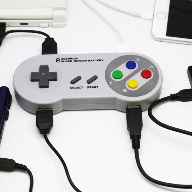 Super Retcon Nintendo Controller Battery