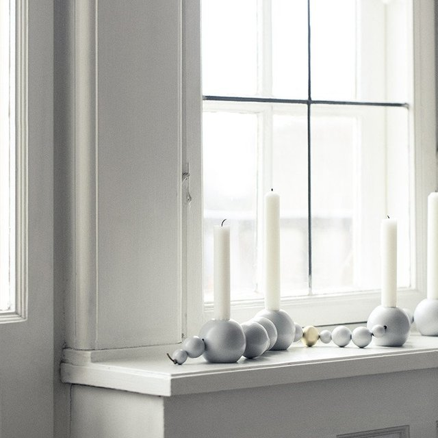 Grey Candleholder String by Ferm Living