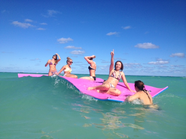 Floating Party Mat
