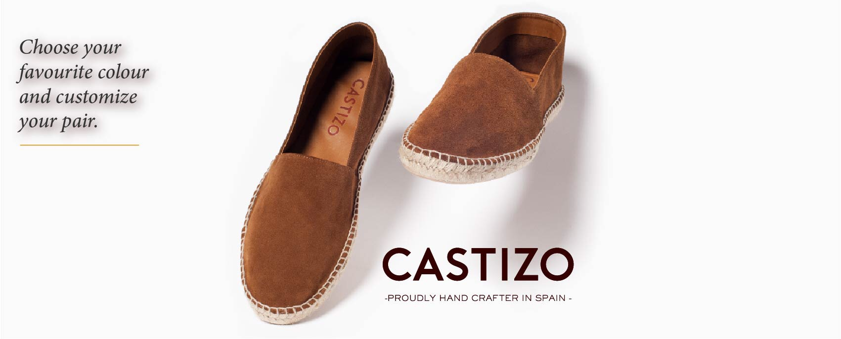 CASTIZO Handcrafted luxury espadrilles at attainable prices