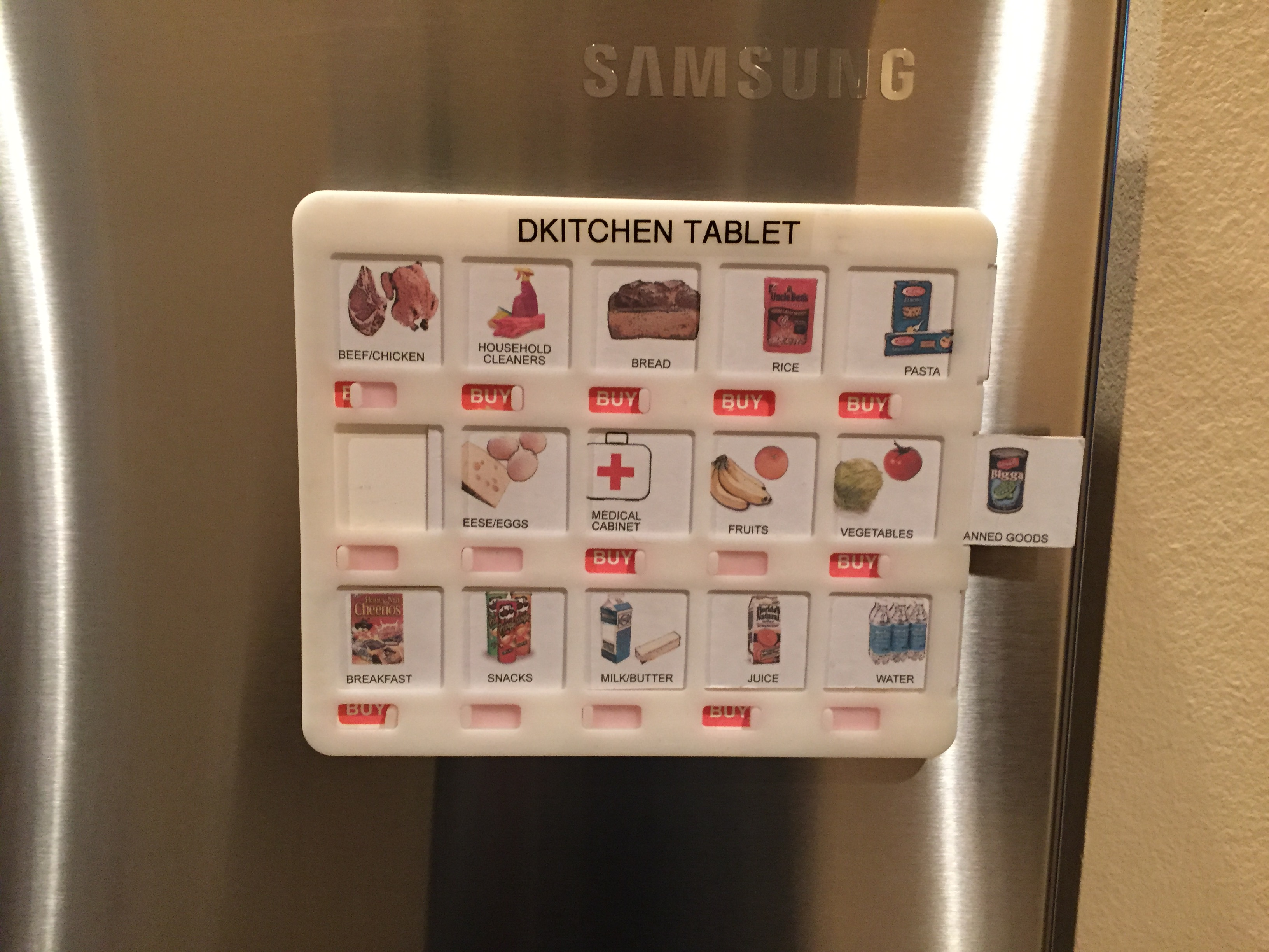 DKitchen Tablet