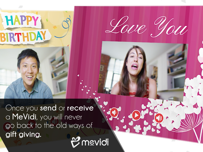 MeVidi – The World's First Personal Video Gift