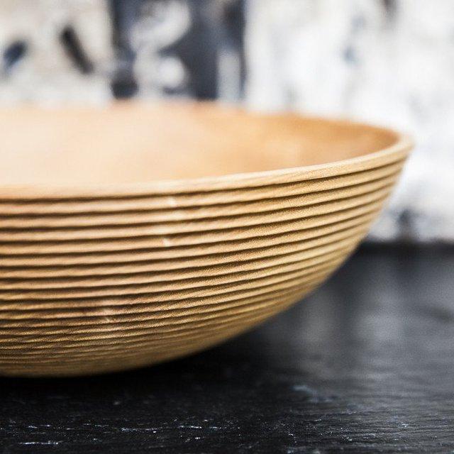 Natura Handmade Wooden Salad Bowls