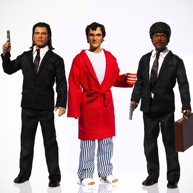 Pulp Fiction Talking Figures