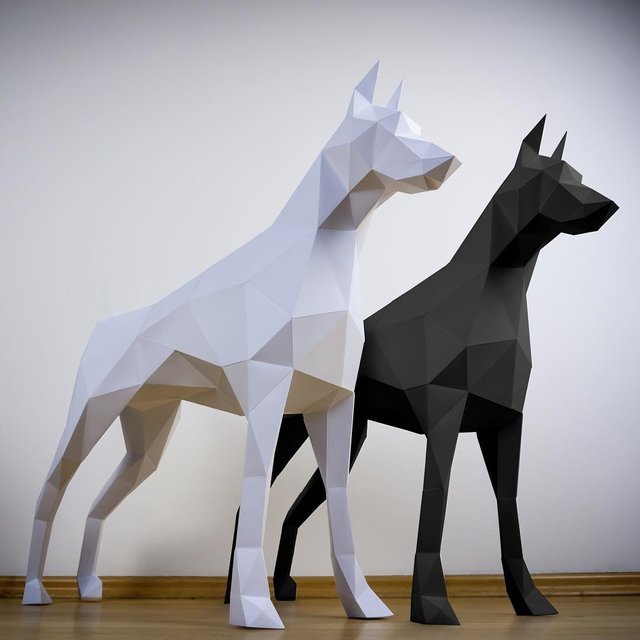 Papertrophy Doberman