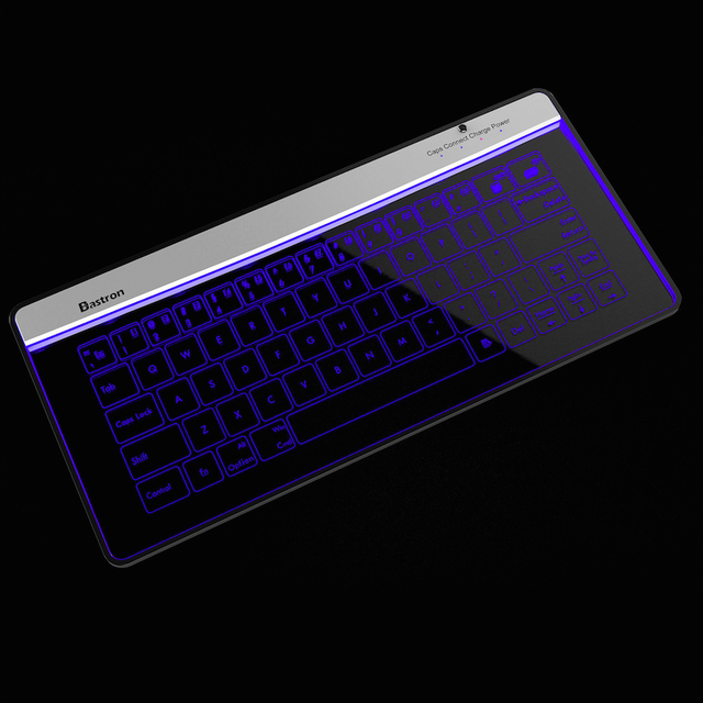 Bluetooth Glass Keyboard by Bastron
