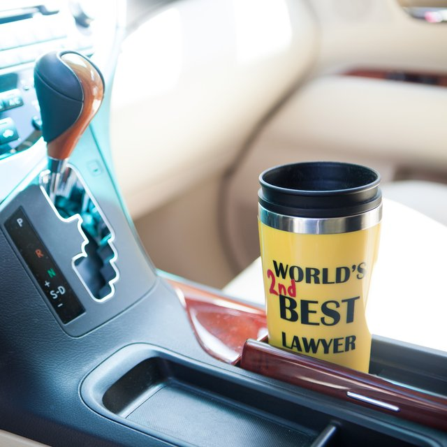 World's 2nd Best Lawyer Tumbler