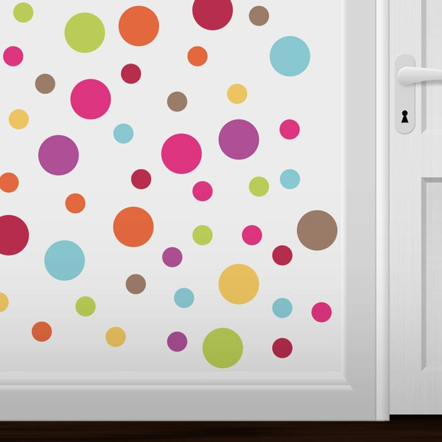 Serendipity Reusable Circle Wall Decals
