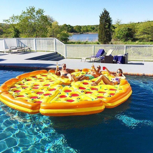 Complete Pizza Pool Float Set 187 Petagadget