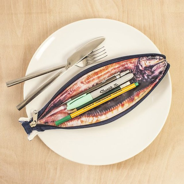 Fish Shaped Pencil Case