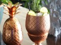 Copper Pineapple Cup