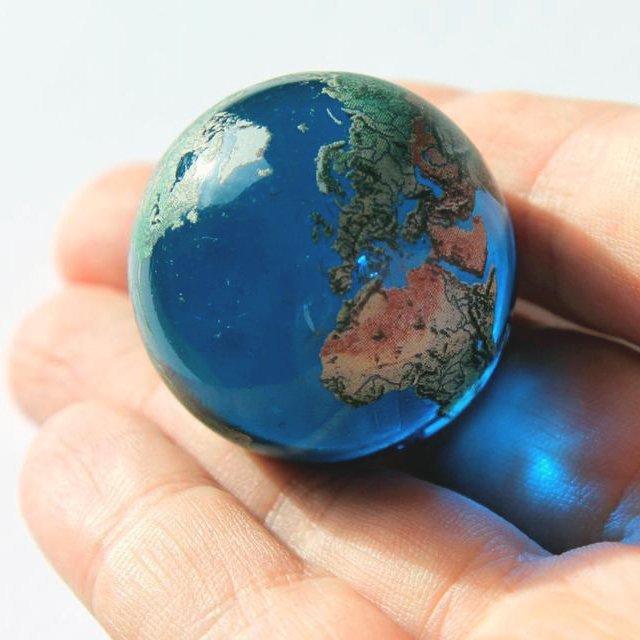 Earth Globe Marble