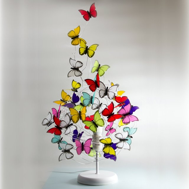 Exodus Multicolor Butterfly Table Lamp