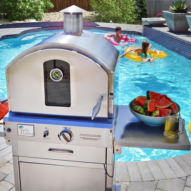 Outdoor Pizza Oven Gas Grill by Pacific Living