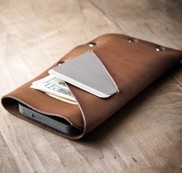 Slim iPhone Wallet by Mr. Lentz