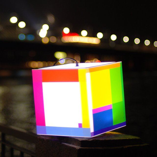 Color Out Your Day Light Cube by UNIQCUBE