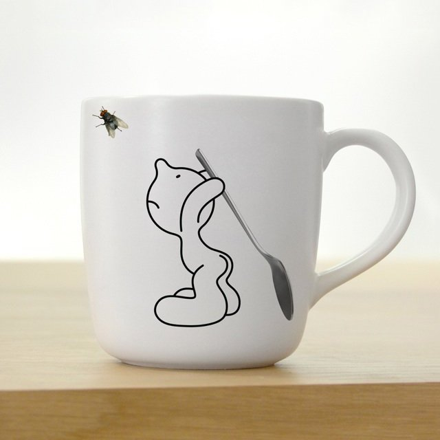 Mr. P Fly Fighter Mug by PROPAGANDA