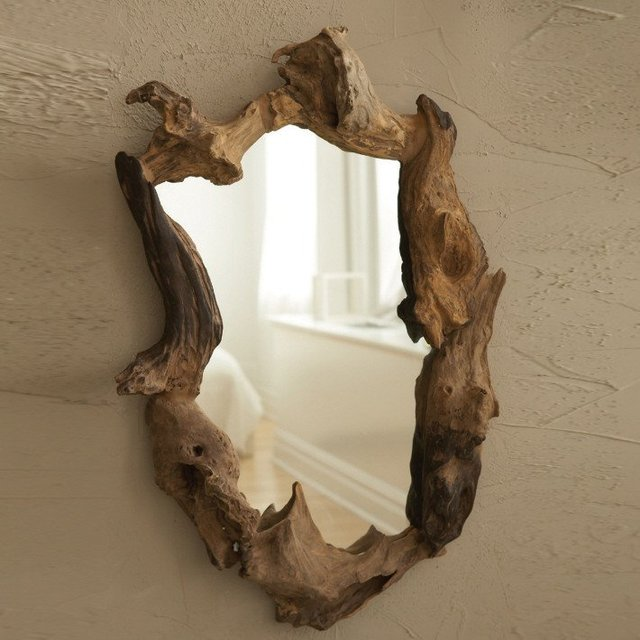 Natural Root Mirror